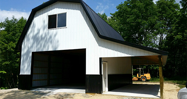 outside view of barn
