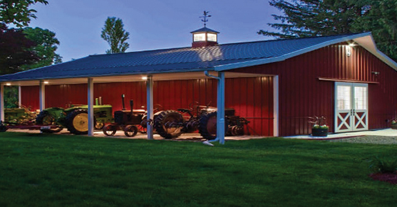 Pole barn house construction company in clarkston mi cno for Building a house in michigan
