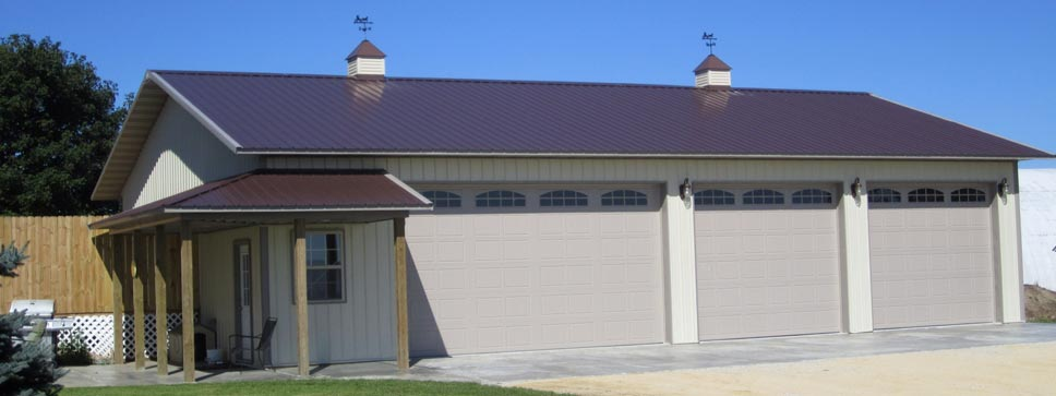 custom pole barn homes custom garage building and construction in clarkston mi